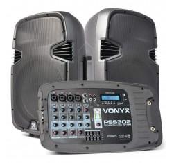 PSS302 Sistema Portátil Audio