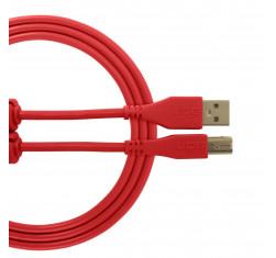 Cable USB 2.0 A-B Rojo Recto 1m...