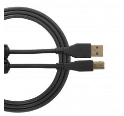 Cable USB 2.0 A-B Negro Recto 1m...