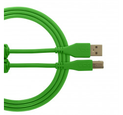 Cable USB 2.0 A-B Verde Recto 1m...