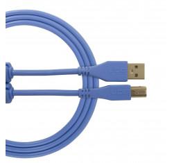 Cable USB 2.0 A-B Azul Recto 1m U95001LB