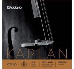 Cuerda Cello Kaplan Re (D) KS512 4/4...