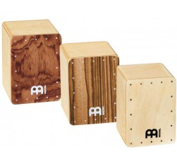 SH50-SET Set de 3 Shakers Mini Cajón