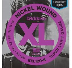 Juego EXL120-8 XL Nickel Wound 8...