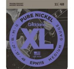 Juego EPN115 XL Pure Nickel Medium 11-48