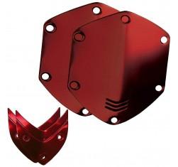 Kit Escudos Rojos Auriculares Over Ear