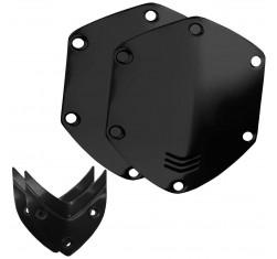 Kit Escudos Shiny Black Auriculares...