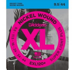 Juego EXL120+ XL Nickel Wound 9,5-44