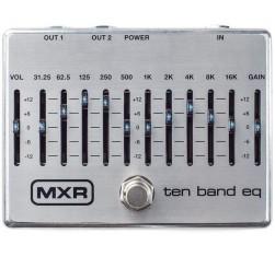 MXR EQ 10 Bandas Silver M108S