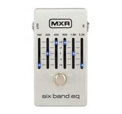MXR EQ 6 Bandas Silver M109S