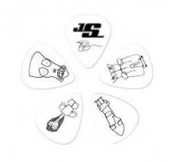 Bolsa de 10 púas Joe Satriani Heavy...