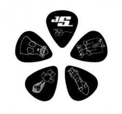 Bolsa de 10 púas Joe Satriani Thin...