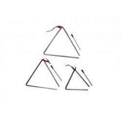 Triángulo 25 cm T10