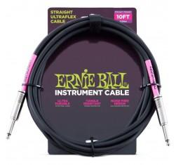Cable Ultraflex Jack/Jack Recto Negro...
