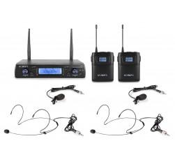 WM62B Micrófono inalámbrico UHF 16Ch...