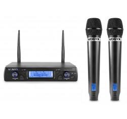 WM62 Micrófono inalámbrico UHF 16Ch...