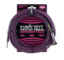 EB6068 Trenzado Negro/Púrpura...