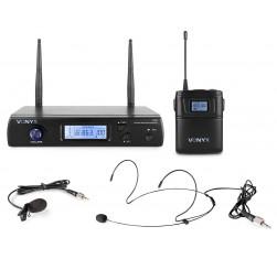 WM61B Micrófono inalámbrico UHF 16Ch