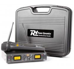PD782 Microfono Inalambrico UHF 2x 8...
