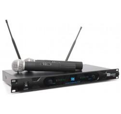 PD722H 2 Canales UHF Microfono...