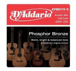 EPBB170-5 Phosphor Bronze 5 Cuerdas...