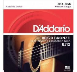 Juego Bronze 80/20 EJ12 Medium 13-56