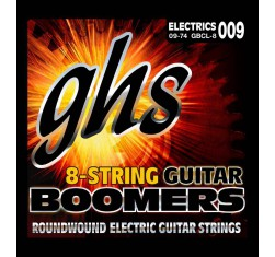 Juego Boomers 8 Cuerdas Custom Light...