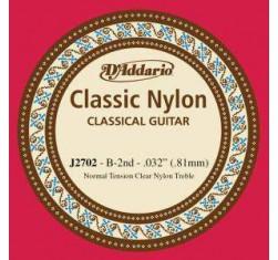 Cuerda Si (B) Classic Nylon J2702