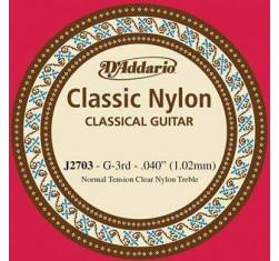 Cuerda Sol (G) Classic Nylon J2703