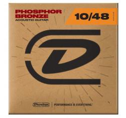 Juego Acústica Phosphor Bronze 10-48