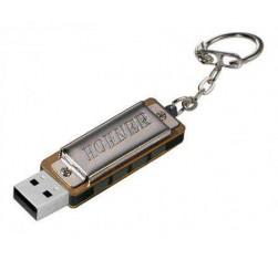 Mini Harp Con USB 8V VM-4455 Cromada