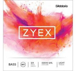Juego Contrabajo 3/4 Zyex Core DZ610L...
