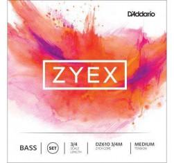 Juego Contrabajo 3/4 Zyex Core DZ610M...