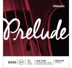 Juego Contrabajo 1/2 Prelude J610...