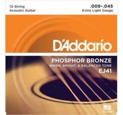 Juego Phosphor Bronze 12 cuerdas EJ41...