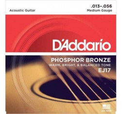 Juego Phosphor Bronze EJ17 Medium 13-56