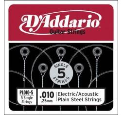 PL010-5 Cuerda Plana ( Paquete 5...