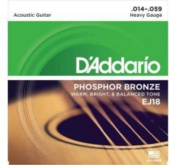 Juego Phosphor Bronze EJ18 Heavy 14-59