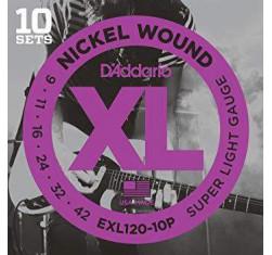 Pack 10 Juegos EXL120-10P Nickel...