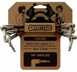 Pack 3 Cables Patch 15 cm Crush