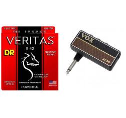 Pack Amplug 2 AC30 + Juego Cuerdas DR...