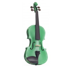 Set Violín 4/4 Harlequin Verde