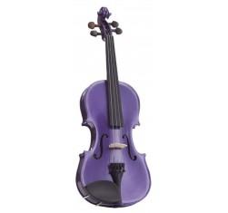 Set Violín 4/4 Harlequin Violeta