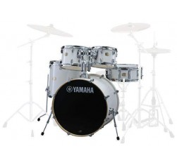 Stage Custom Birch Studio Pure White...