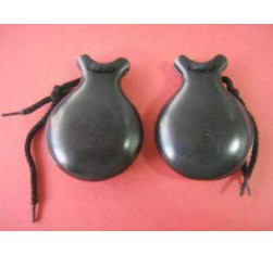 Castañuelas Fibra Vidrio Negra nº6