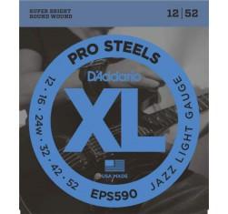 Juego EPS590 ProSteels Jazz Light 12-52
