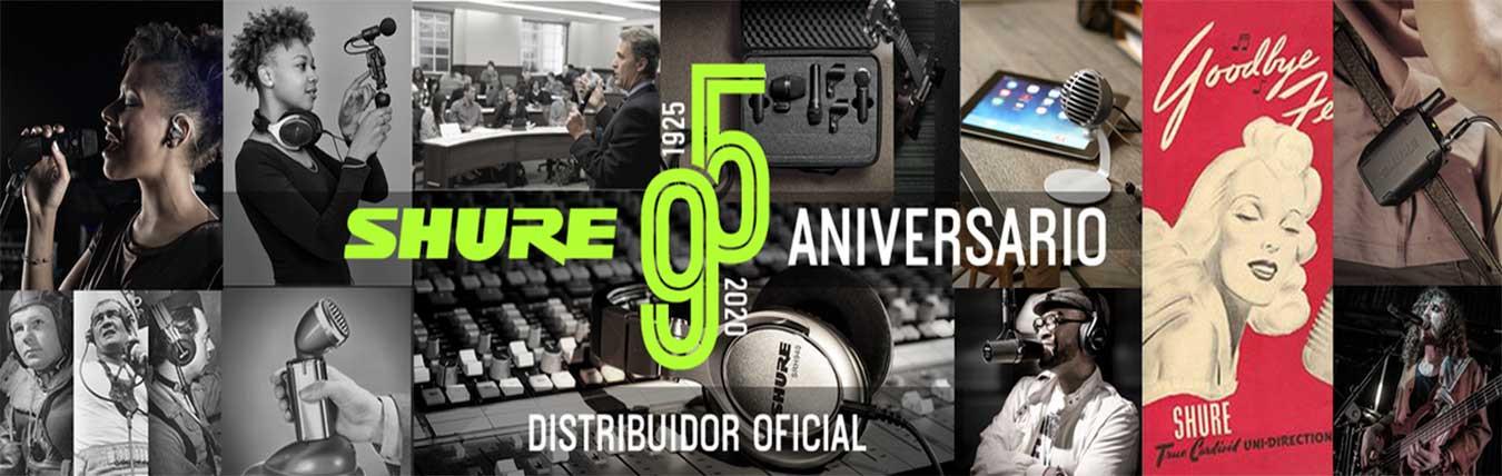 95 ANIVERSARIO DE SHURE