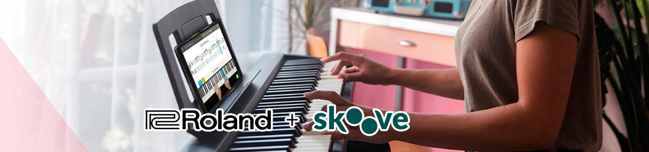 Clases de piano gratis con Roland