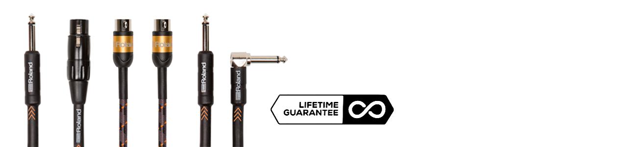 Garantía de por vida en cables Roland